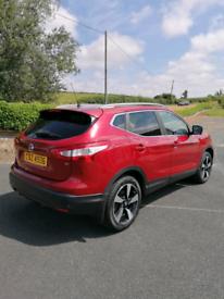 2015 Nissan Qashqai 1.6 N-tec + 50,000 miles