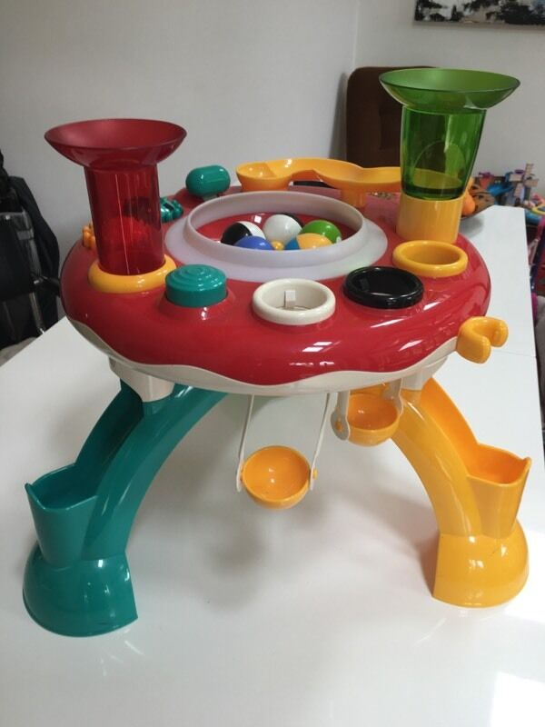 Early Learning Centre Light Amp Sound Ball Activity Table