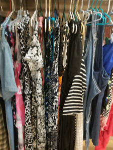 INDOOR YARD SALE ..CLOTHING AND SMALL HOUSEHOLD