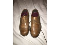 Boys brown brogues
