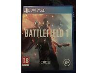 Battlefield 1 PS4 as new