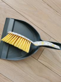 Free dustpan and brush