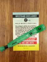 Selling VELD General Admission wristband!!