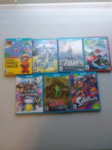 Wii U Games for Sale Starting at $20