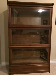 Antique barrister bookcase for sale