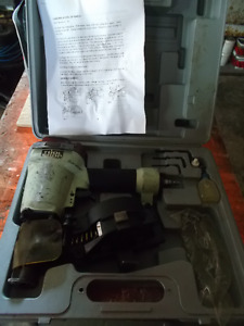 Coil air roofing nailer