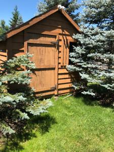 Sauna shed 9 ft x9 ft