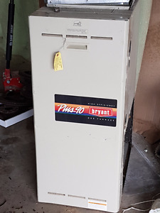 Bryant Plus 90 Used forced air furnace natural gas