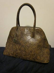 leather tooled purse by Bianca Nygard