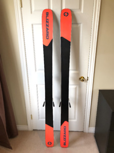 180cm Blizzard Rustler 9 Skis with Attack2 13 Bindings $475.00