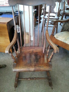 Primitive Rocking Chair