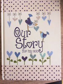 Our Story, for my son (book)