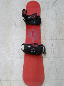 Snowboard + Boots for sale. An awesome set!