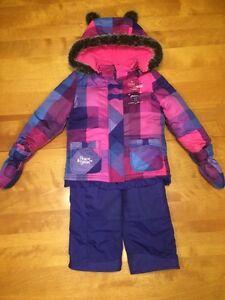 Manteau d'hiver fille 2T