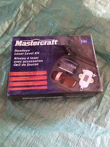 mastercraft hawkeye laser level manual