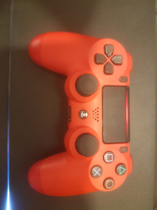 Mint Condition Almost New Red PS4 Controller