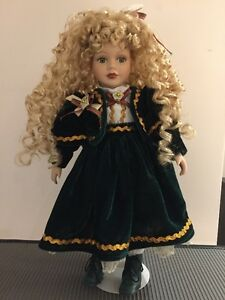 Genuine Porcelain Doll - Century Collection - hand painted West Island Greater Montréal image 1