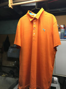 Assortment of Men's brand name golf shirts