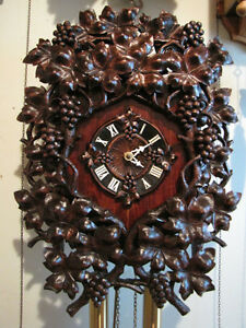 Hand carved , unique wall clock. London Ontario image 1