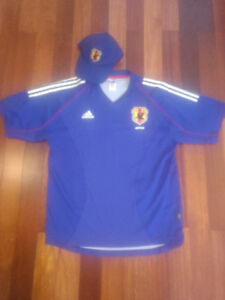 Japan National Team Soccer Jersey and Hat
