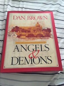 Angels and demons illustrated hardcover
