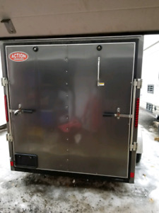 2018 6x10 V Nose Enclosed Trailer