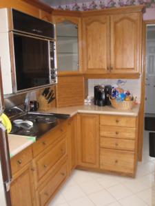 Kitchen Cabinets (Used in Good Condition)