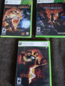 Xbos games,Xbox360 games,complete with paper work