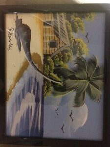 Caribbean canvas paintings Cambridge Kitchener Area image 3