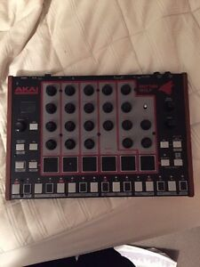 Akai rhythm with analog drum machine