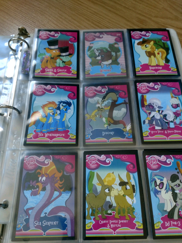 G4 My Little Pony cards