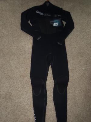 Hyperflex Wetsuits Men's 3.2-mm Amp-Three 3 Front Zip Full S