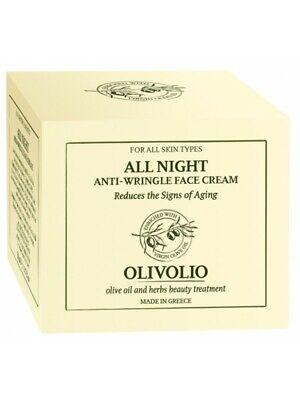 Natürliche Gesicht (82% natürliche Antifalten Gesichtscreme 100% Bio Olivenöl Nachtcreme 0 Mineralöl)