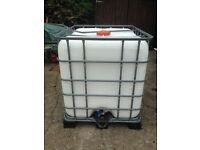 Water Tank/Bowser (IBC)