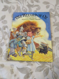 THE WIZARD OF OZ (classic hardcover)