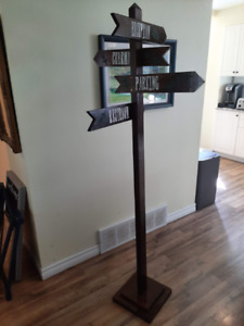 Large Standing Sign Post