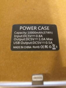 iphone 6 S plus case battery pack (not a cell)$20.00
