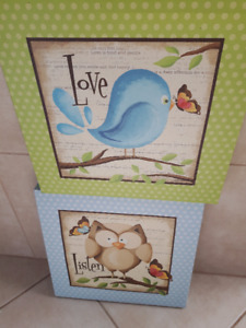 Canvas picture decor - girl or boy