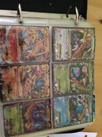 Pokemon cards over 1500 cards