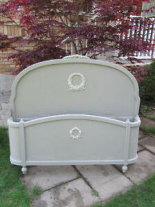 Antique French provincial Double Bed