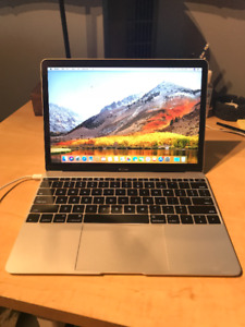 2016 12in Macbook Retina, Upgraded 512gb, Great Condition!