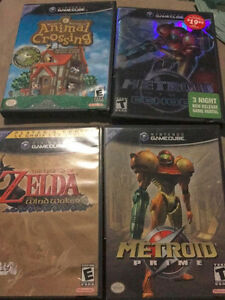 GameCube Games, Zelda, Animal Crossing and Metroid