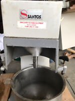 SANTOS COMMERCIAL 10 QUART PLANETARY DOUGH MIXER