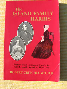 The ISLAND FAMILY HARRIS by ROBERT CRITCHLOW TUCK