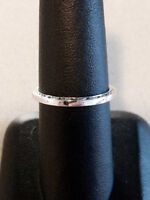 14KT SOLID WHITE GOLD LADY'S WEDDING BAND /CUSTOM DESIGN !!! NEW