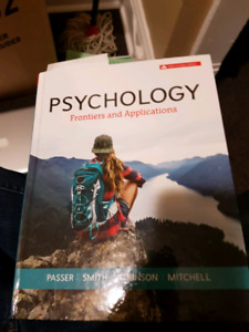 Psychologist frontiers and applications 6th edition