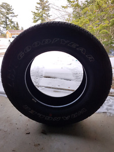 4x 275 65 r18  goodyear fortitude ht brand new