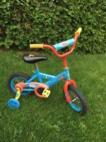 Thomas & Friends Children's Bicycle with Training Wheels