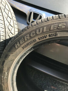 25545R19 Tires