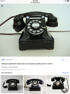 Wanted - Old telephone for parts